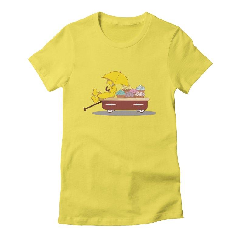 Spring Showers Women's T-Shirt by Svaeth's Artist Shop