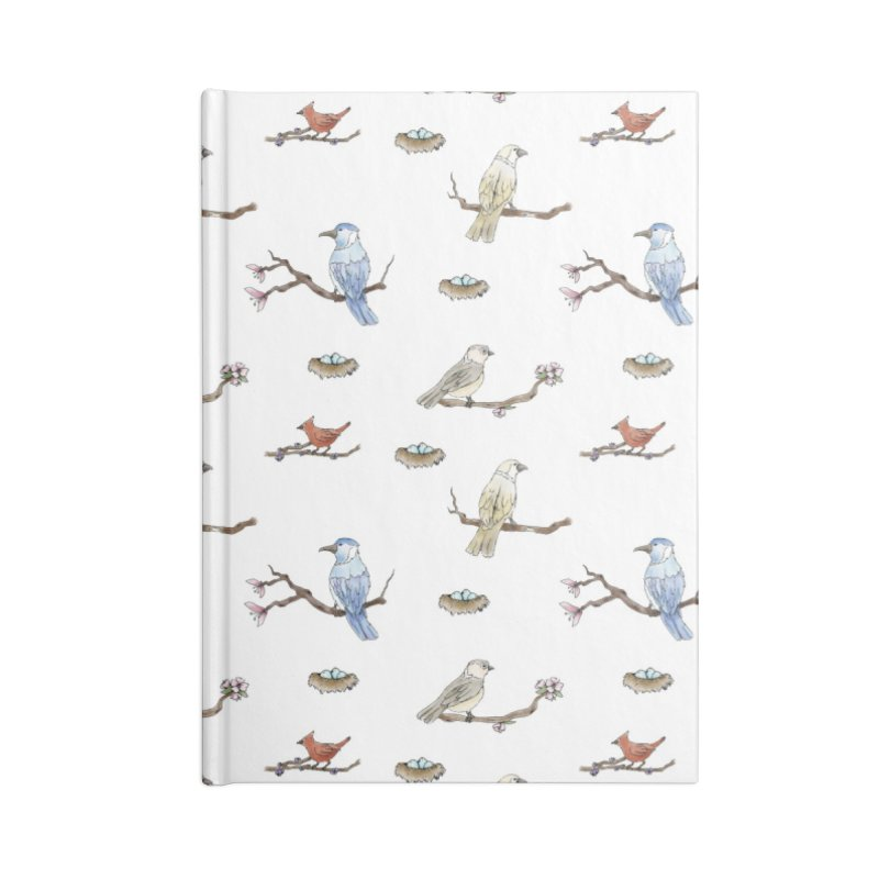 Spring Birds Accessories Notebook by Svaeth's Artist Shop