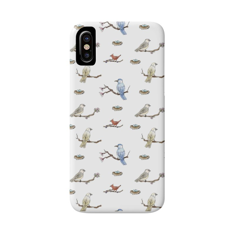 Spring Birds Accessories Phone Case by Svaeth's Artist Shop