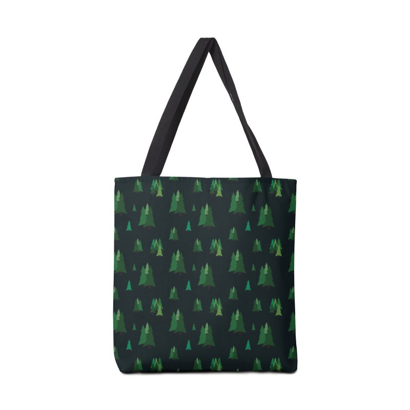 Pine Trees Accessories Bag by Svaeth's Artist Shop