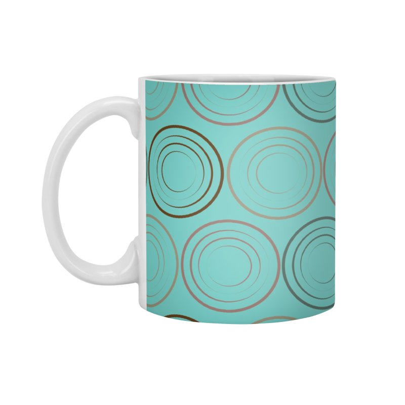 Circles Accessories Mug by Svaeth's Artist Shop