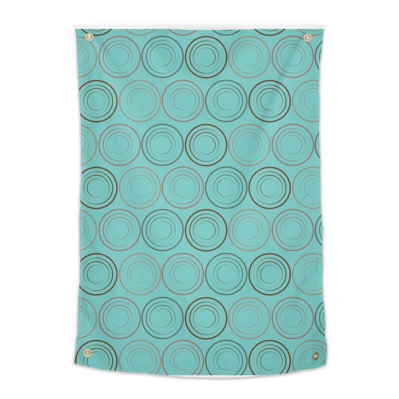 Circles Home Tapestry by Svaeth's Artist Shop