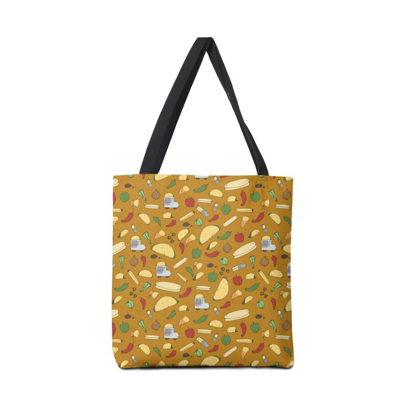 Tacos & Burritos Accessories Bag by Svaeth's Artist Shop