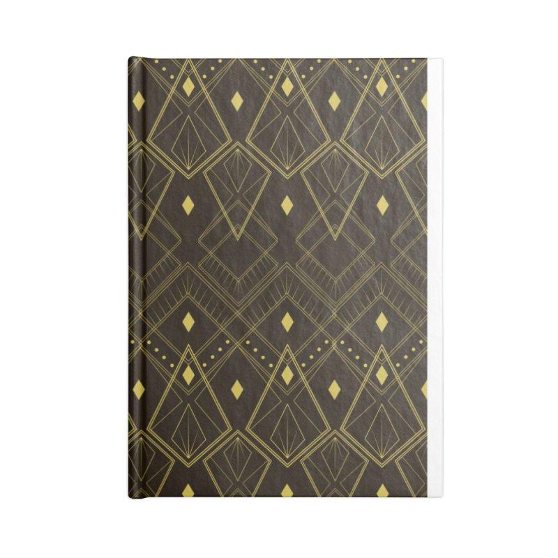 Deco Diamonds Accessories Notebook by Svaeth's Artist Shop
