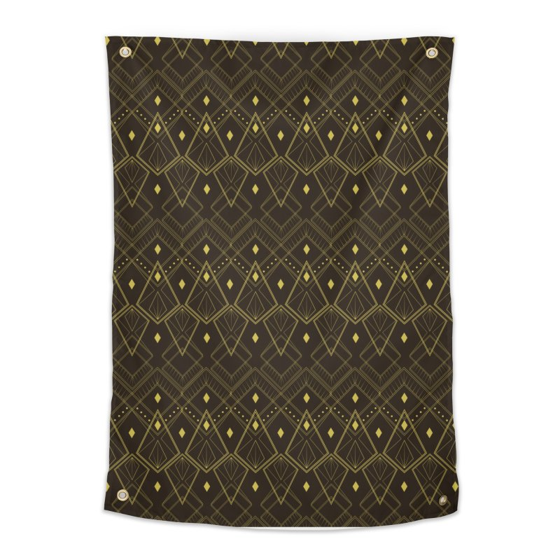 Deco Diamonds Home Tapestry by Svaeth's Artist Shop