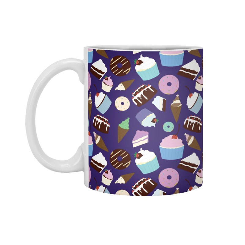 Sweets & Treats - Colored Accessories Mug by Svaeth's Artist Shop