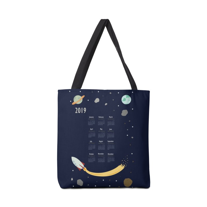 2019 Outer Space Calendar Accessories Bag by Svaeth's Artist Shop