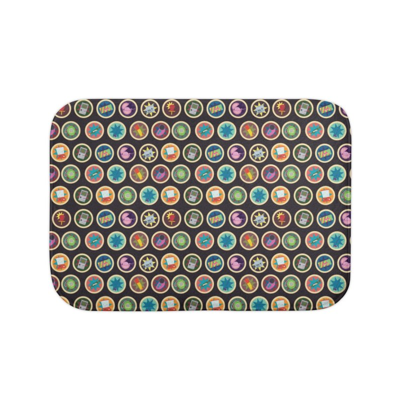Toys, Games, and Candy Home Bath Mat by Svaeth's Artist Shop