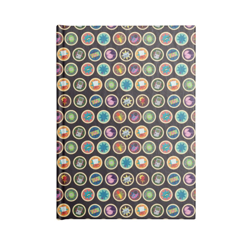 Toys, Games, and Candy Accessories Notebook by Svaeth's Artist Shop