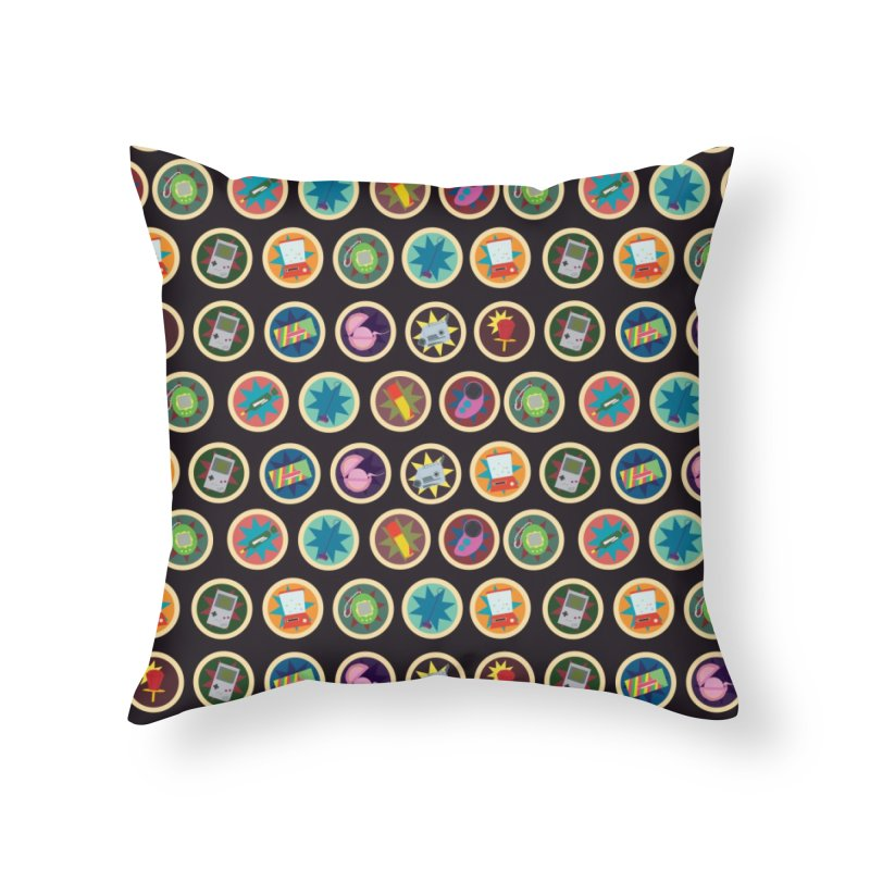 Toys, Games, and Candy Home Throw Pillow by Svaeth's Artist Shop