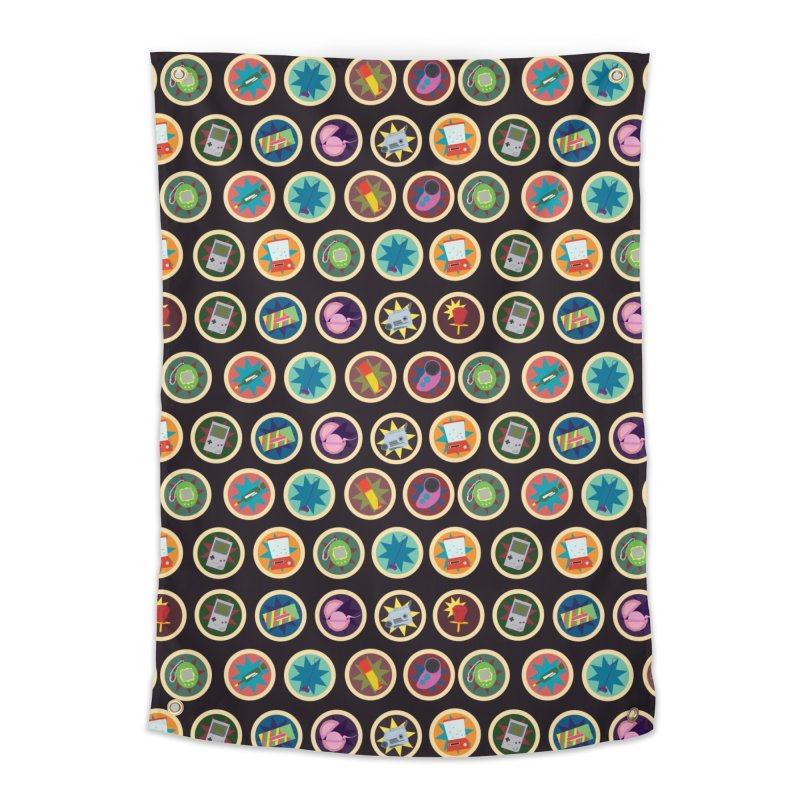 Toys, Games, and Candy Home Tapestry by Svaeth's Artist Shop