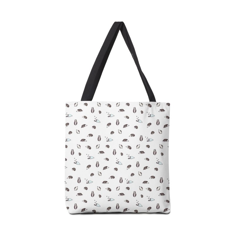 Hedgehogs Accessories Bag by Svaeth's Artist Shop