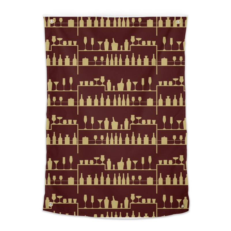 Vintage Bar Home Tapestry by Svaeth's Artist Shop