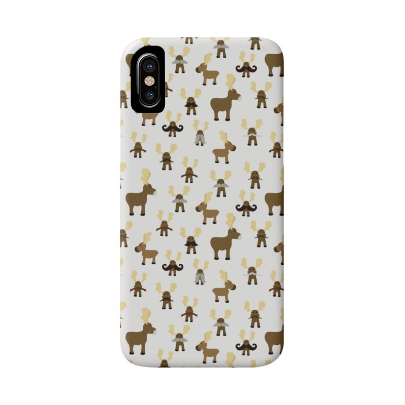 Moosestaches Accessories Phone Case by Svaeth's Artist Shop