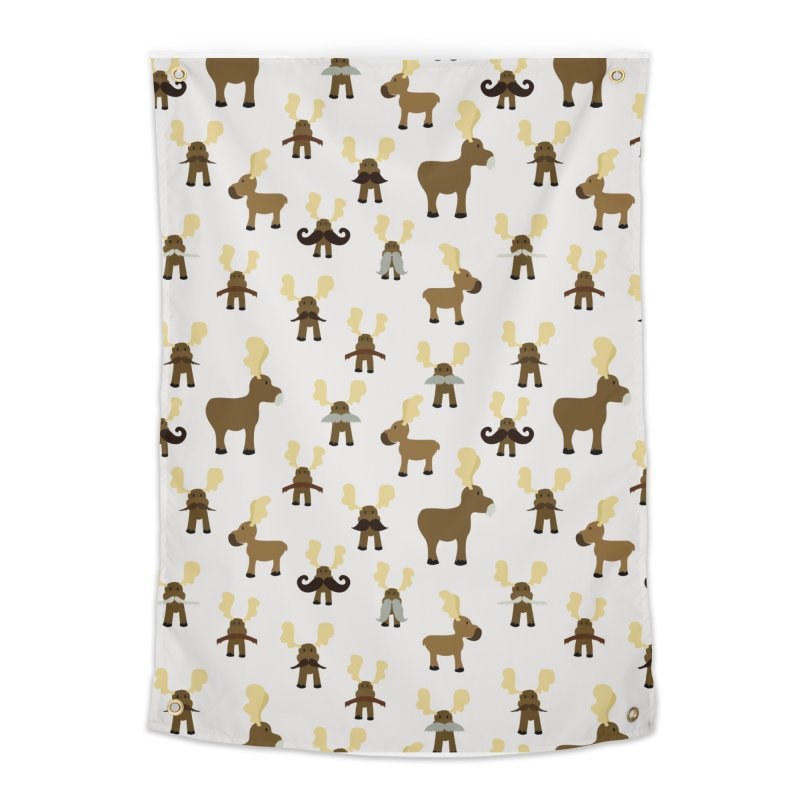 Moosestaches Home Tapestry by Svaeth's Artist Shop