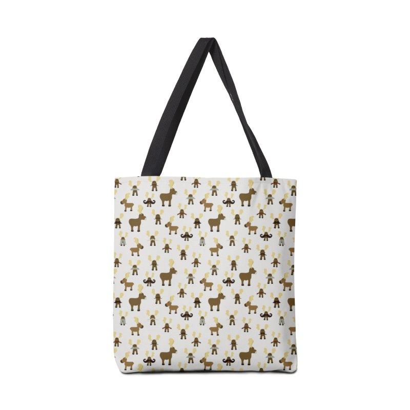 Moosestaches Accessories Bag by Svaeth's Artist Shop