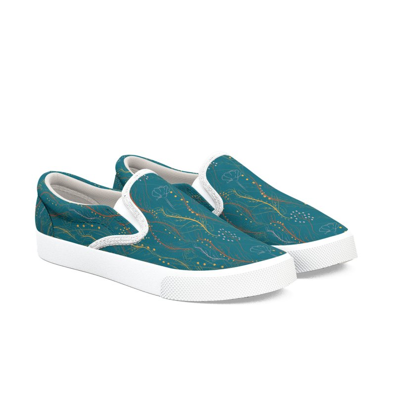 Chaotic Nature Women's Slip-On Shoes by Svaeth's Artist Shop