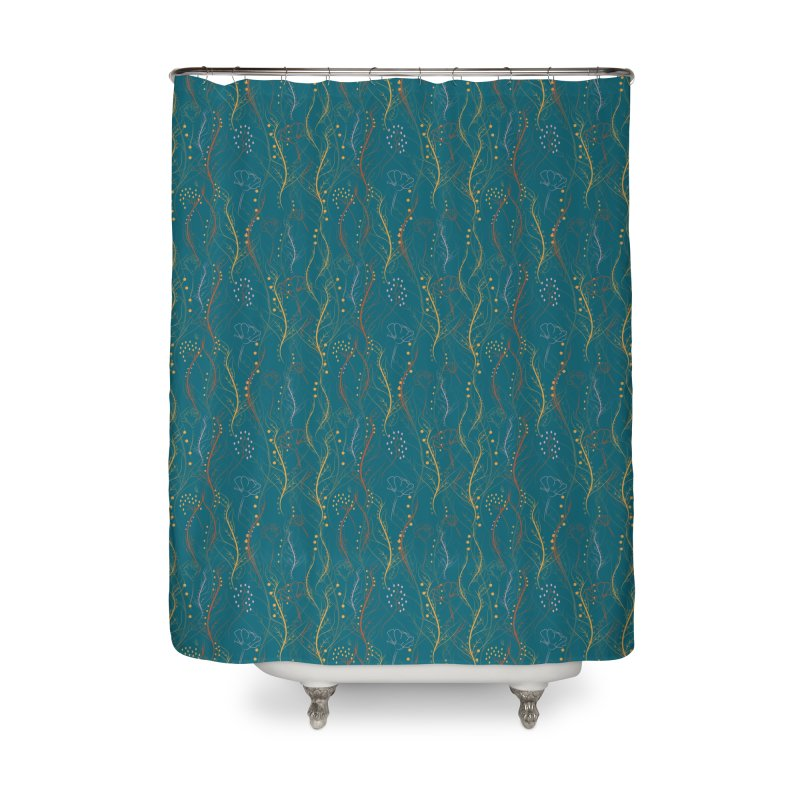 Chaotic Nature Home Shower Curtain by Svaeth's Artist Shop