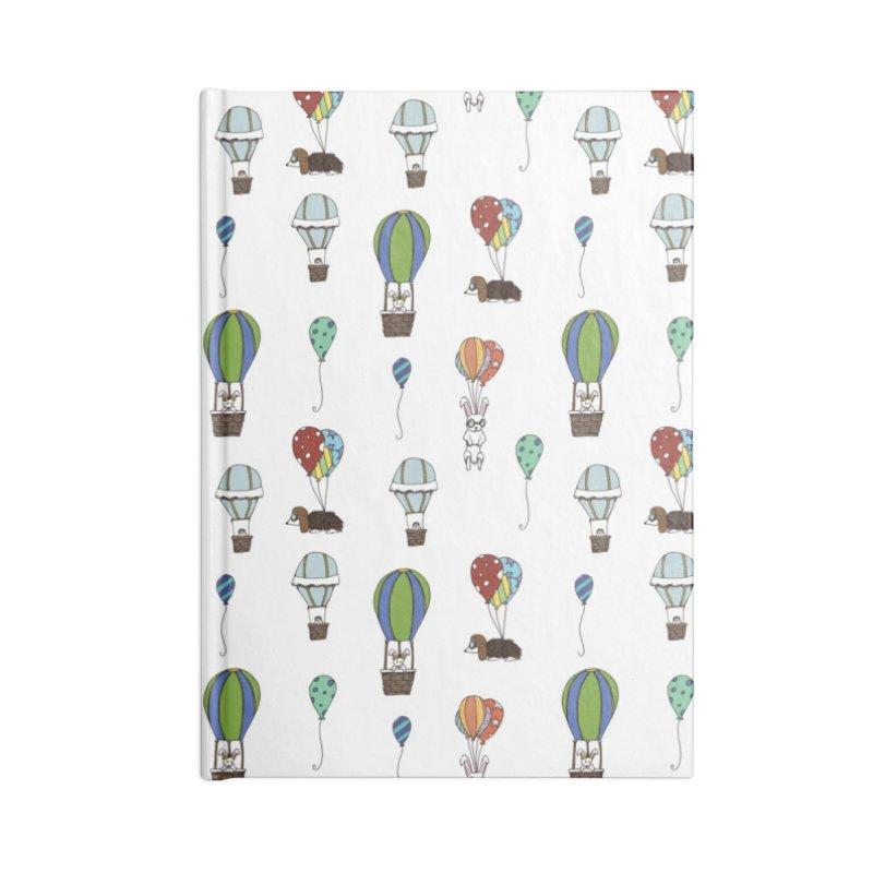 Balloon Buddies Accessories Notebook by Svaeth's Artist Shop
