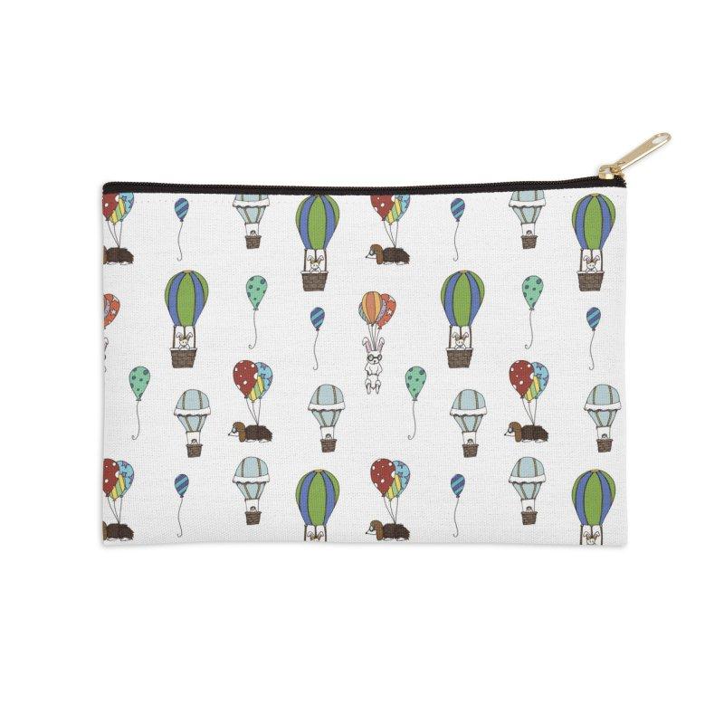 Balloon Buddies Accessories Zip Pouch by Svaeth's Artist Shop