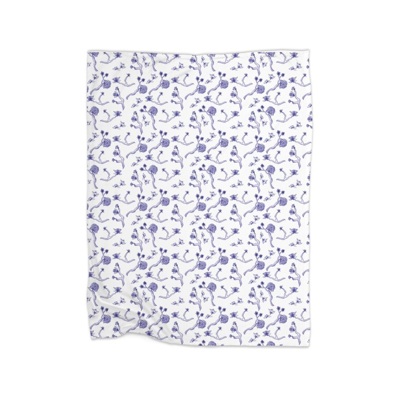 Flower Branches Home Blanket by Svaeth's Artist Shop