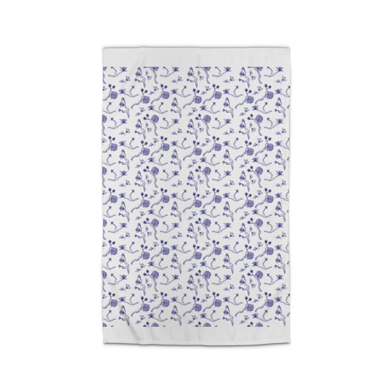 Flower Branches Home Rug by Svaeth's Artist Shop