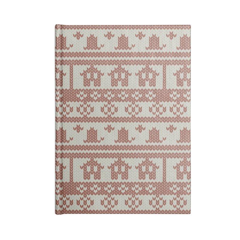 Winter Knitting Accessories Notebook by Svaeth's Artist Shop