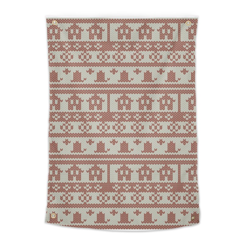 Winter Knitting Home Tapestry by Svaeth's Artist Shop