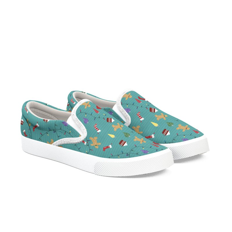 Holiday Decor Men's Shoes by Svaeth's Artist Shop