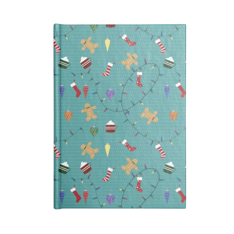 Holiday Decor Accessories Notebook by Svaeth's Artist Shop