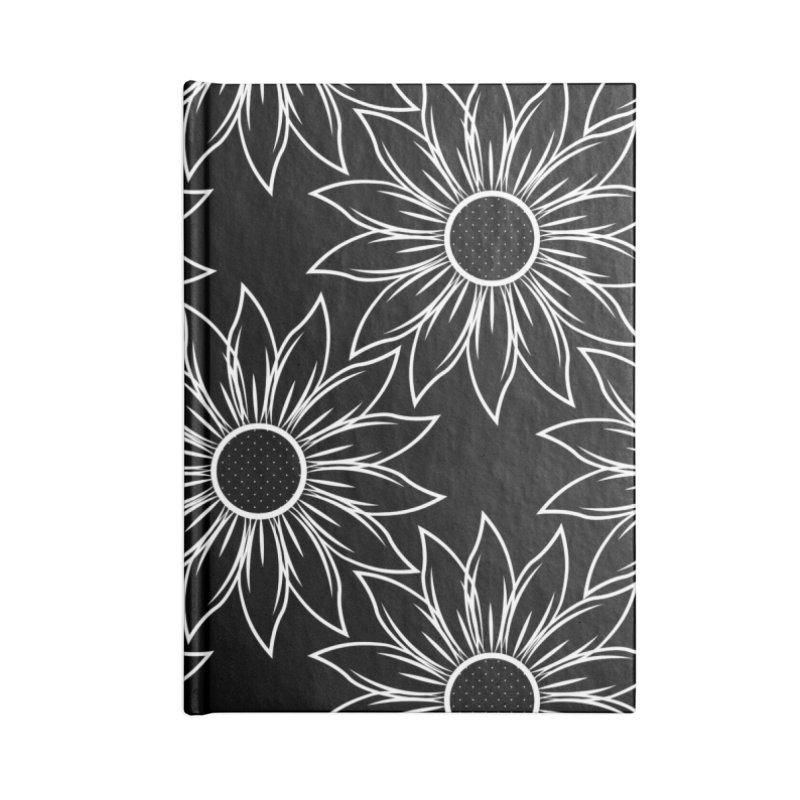 Sunflowers Accessories Notebook by Svaeth's Artist Shop