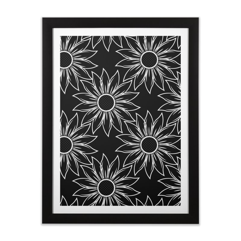 Sunflowers Home Framed Fine Art Print by Svaeth's Artist Shop