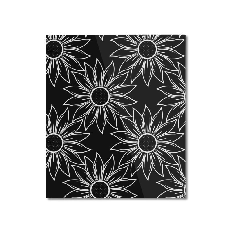 Sunflowers Home Mounted Aluminum Print by Svaeth's Artist Shop