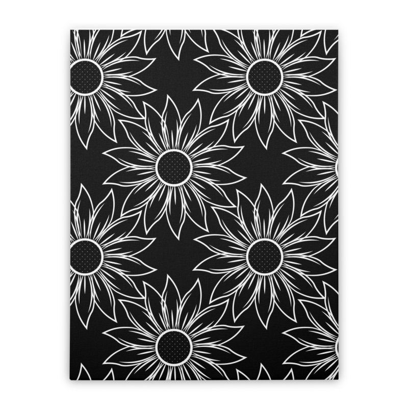 Sunflowers Home Stretched Canvas by Svaeth's Artist Shop
