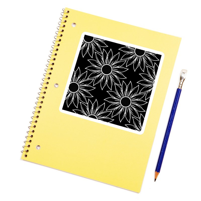 Sunflowers Accessories Sticker by Svaeth's Artist Shop