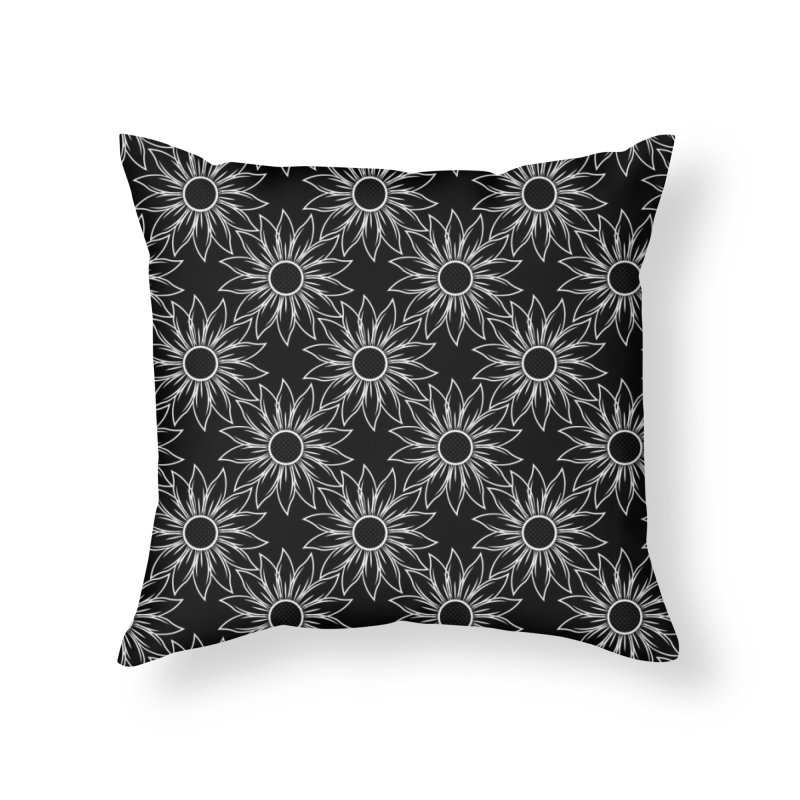 Sunflowers Home Throw Pillow by Svaeth's Artist Shop