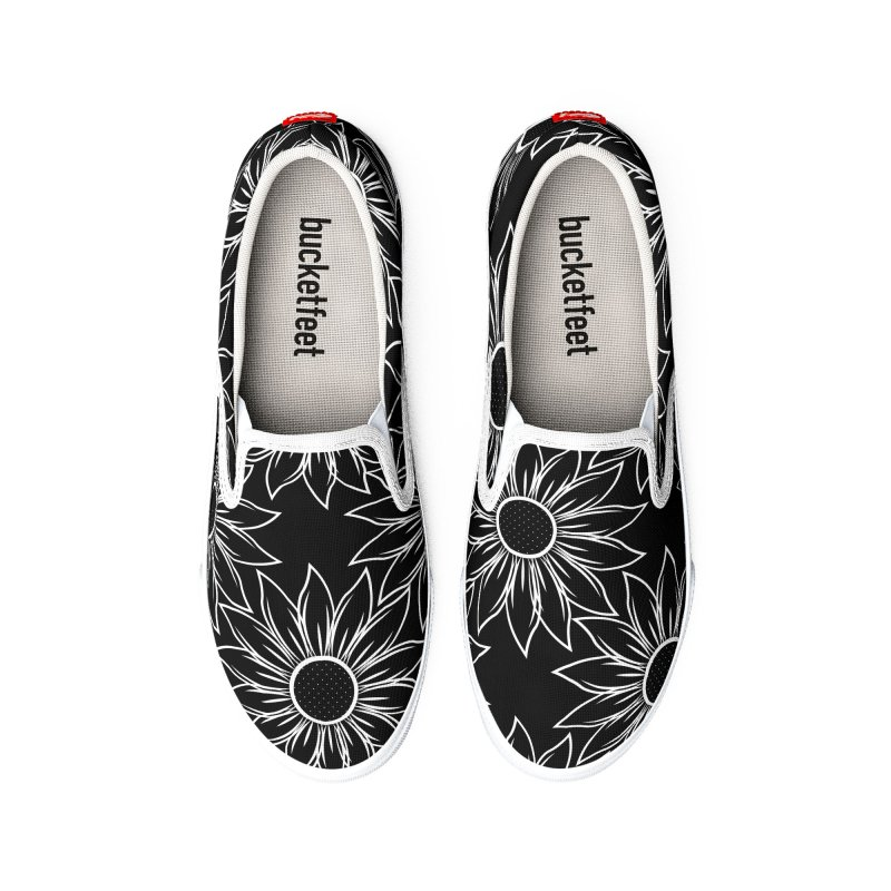 Sunflowers Men's Shoes by Svaeth's Artist Shop