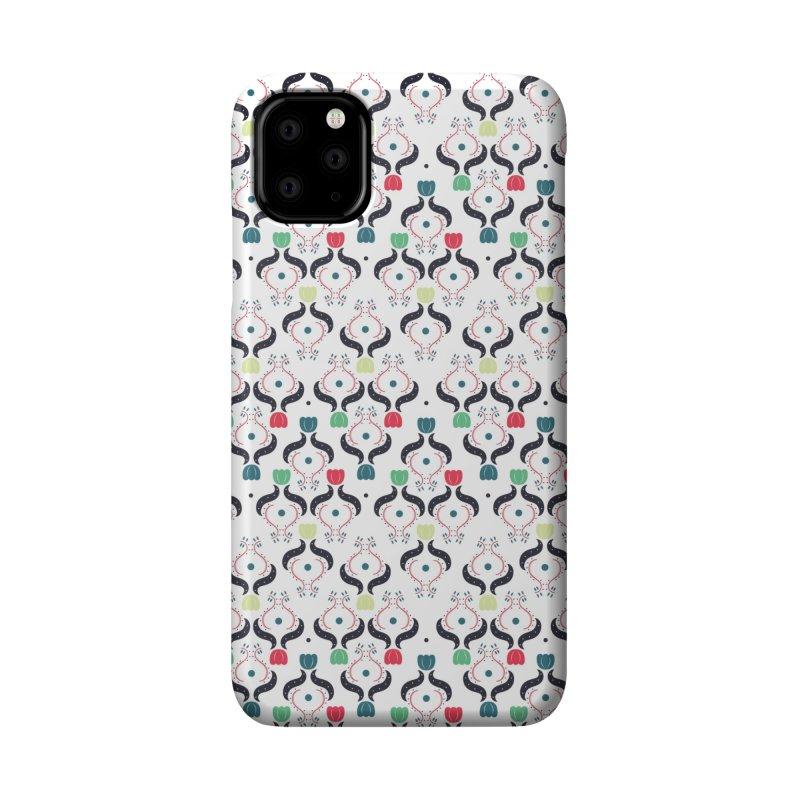 Floral Folk Art Accessories Phone Case by Svaeth's Artist Shop