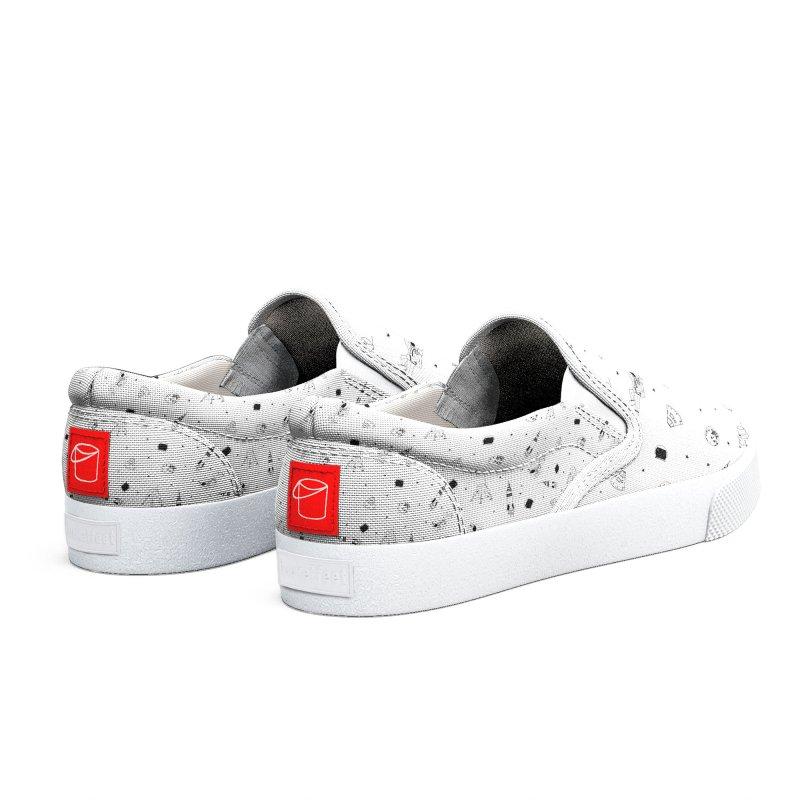Moon Landing Men's Shoes by Svaeth's Artist Shop