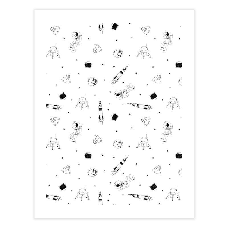 Moon Landing Home Fine Art Print by Svaeth's Artist Shop