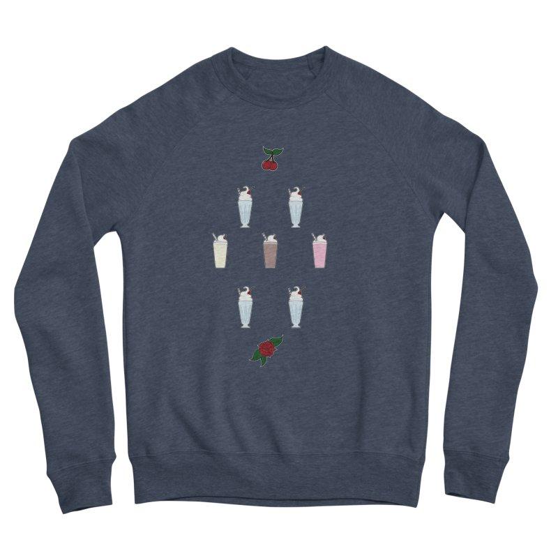 Rockabilly Milkshakes Women's Sponge Fleece Sweatshirt by Svaeth's Artist Shop