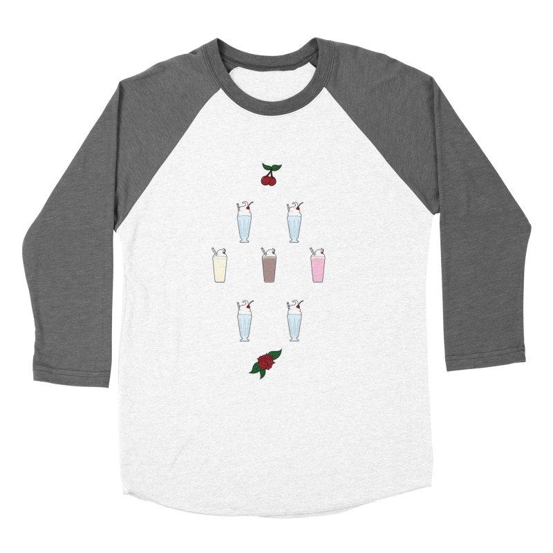 Rockabilly Milkshakes Women's Longsleeve T-Shirt by Svaeth's Artist Shop