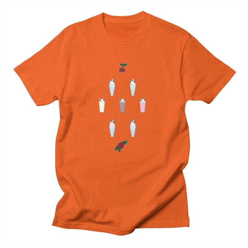 Rockabilly Milkshakes Men's T-Shirt by Svaeth's Artist Shop
