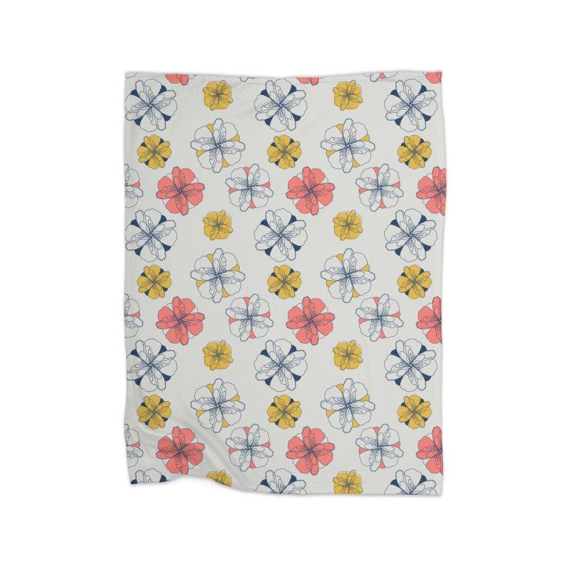 Springtime Floral Home Blanket by Svaeth's Artist Shop