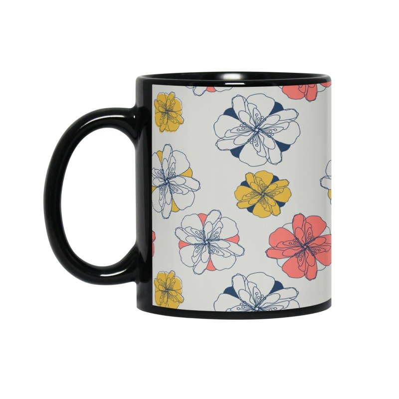 Springtime Floral Accessories Mug by Svaeth's Artist Shop