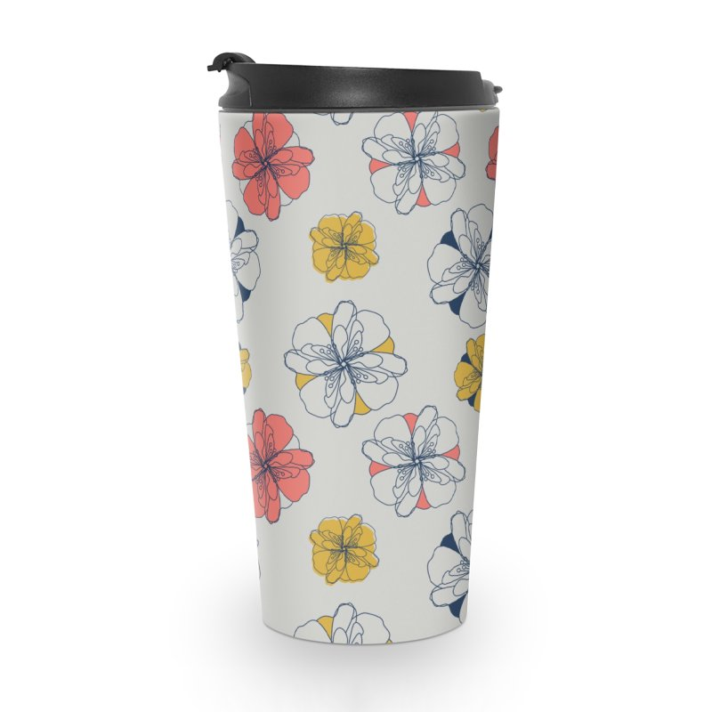 Springtime Floral Accessories Travel Mug by Svaeth's Artist Shop