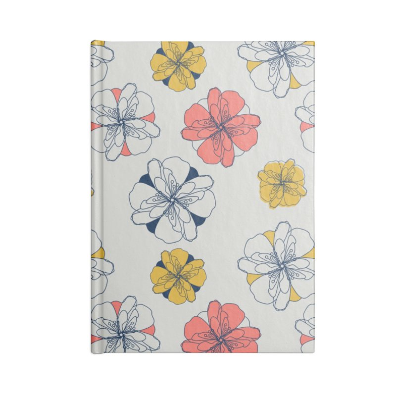 Springtime Floral Accessories Lined Journal Notebook by Svaeth's Artist Shop
