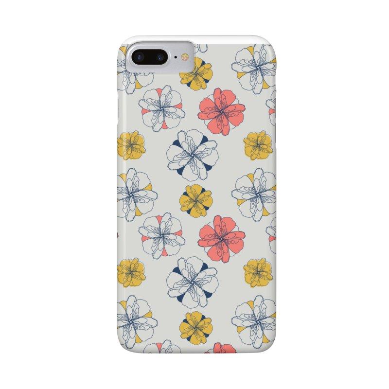 Springtime Floral Accessories Phone Case by Svaeth's Artist Shop