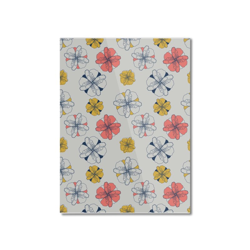 Springtime Floral Home Mounted Aluminum Print by Svaeth's Artist Shop