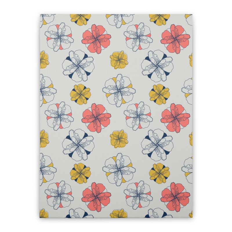 Springtime Floral Home Stretched Canvas by Svaeth's Artist Shop